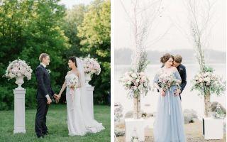 Альтернатива свадебной арке — свадебные советы