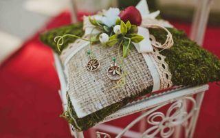 Альтернатива подушечке для колец — свадебные советы