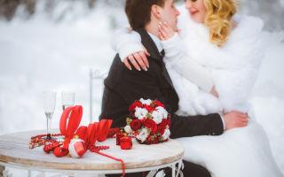 Аксессуары для зимней свадебной фотосессии — свадебные советы