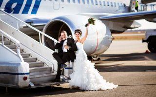 Авиационная свадьба — свадебные советы